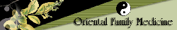 Oriental Family Medicine